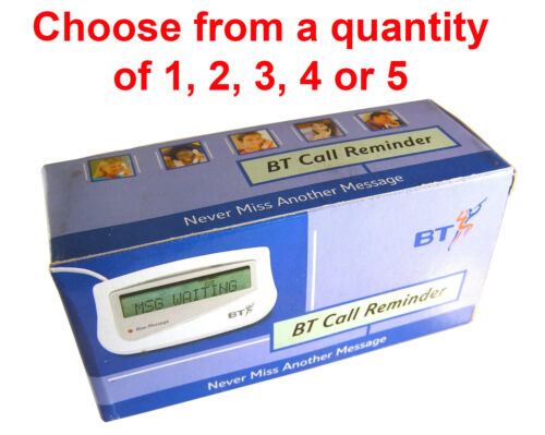 BT Call Reminder ID & Message Display NO USER GUIDE Discount On 2-5 Pcs OM1249