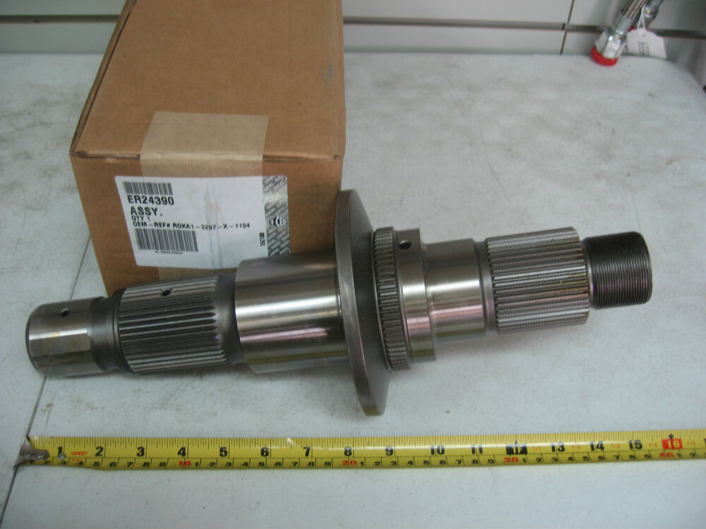 Meritor Drive Axle Parts : Shaft excel p n er ref rockwell meritor a