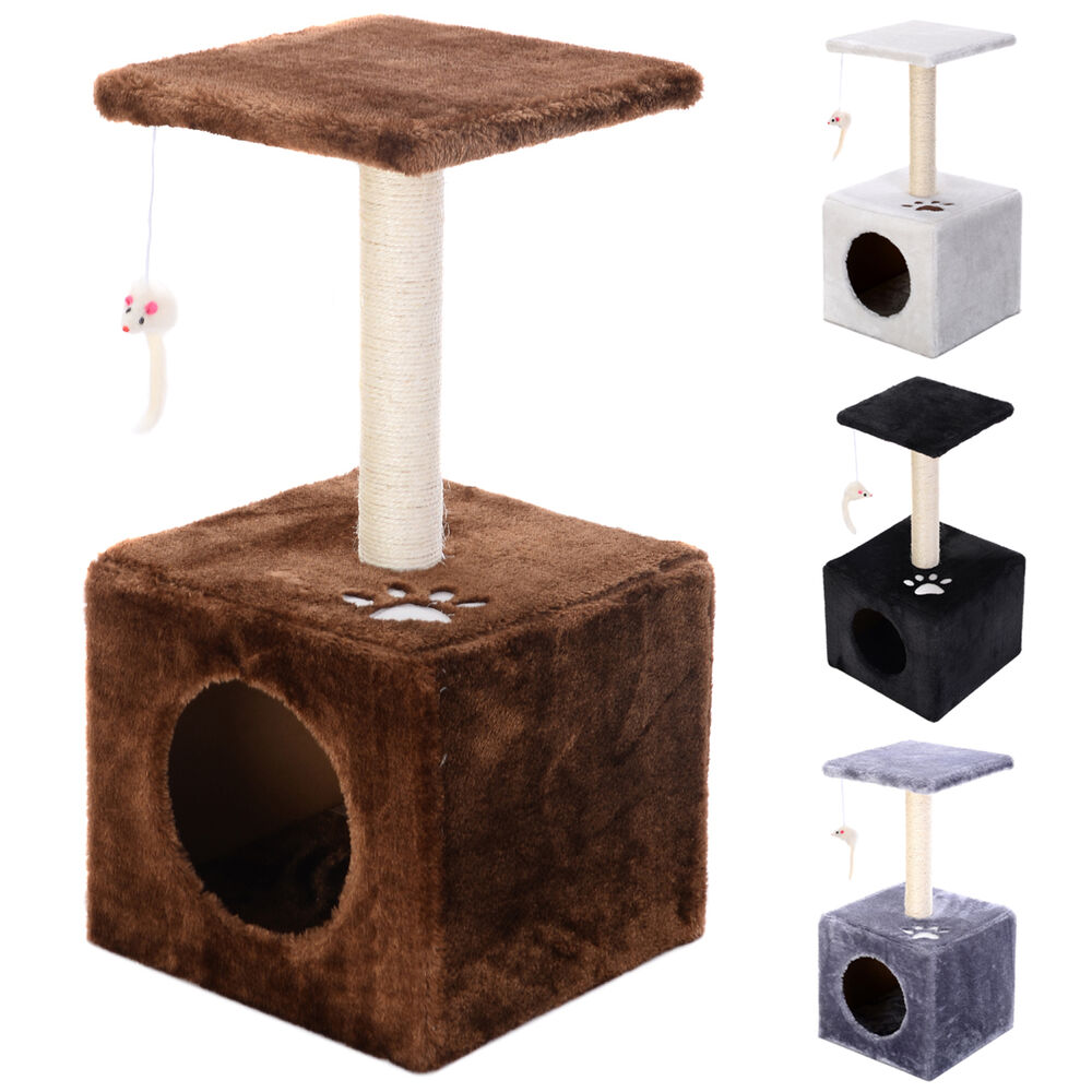Deluxe cat tree 23 condo furniture scratching post pet for Furniture 23