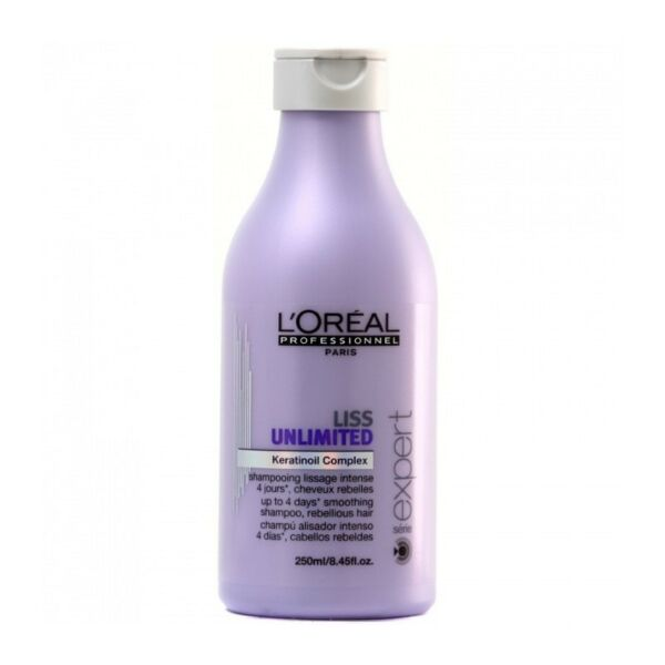 SHAMPOOING LISS UNLIMITED 250 ML L'OREAL PROFESSIONNEL [70S0406A]*