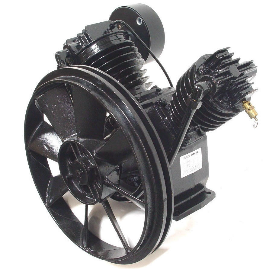AIR COMPRESSOR PUMP - TWO STAGE - SCHULZ MSV20MAX | eBay