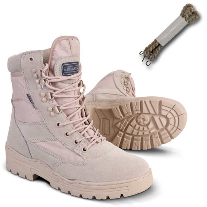 Military Army Desert Combat Patrol Boot Tactical Sand Tan