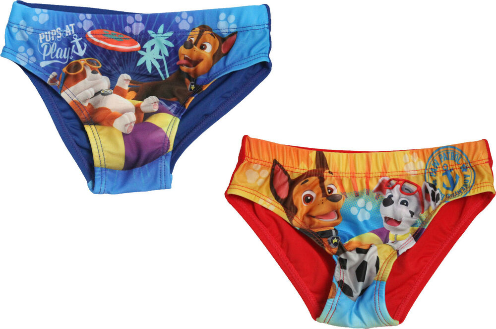 5a82686a5c Swimwear, Surfwear & Wetsuits Shorts Paw Patrol Chase Pups Swimming Pants  Bestrend
