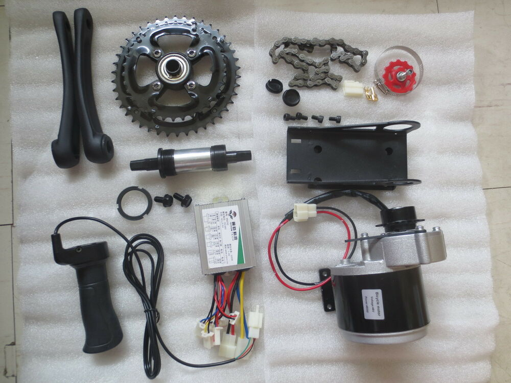 Build Your Own Golf Cart Kit >> 48V 450W ELECTRIC MOTORIZED E BIKE CONVERSION KIT | eBay