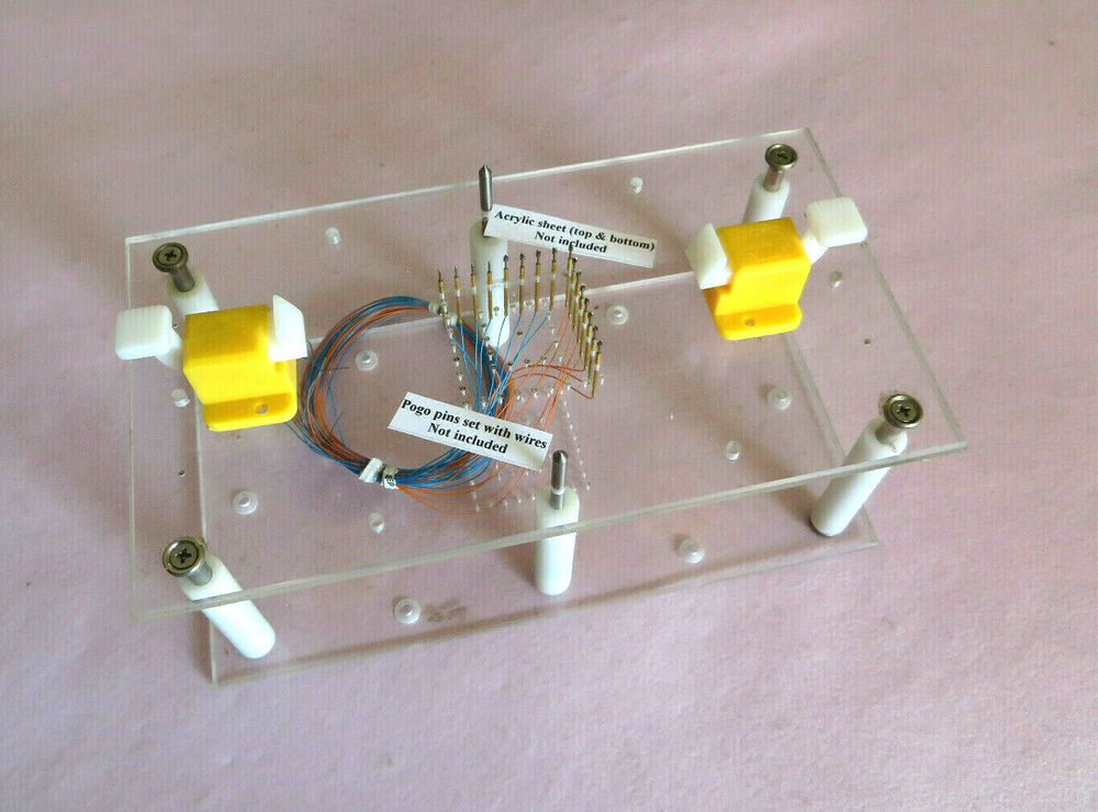 Electronics Test Jig : Prototype test fixture jig for pogo pin pcb board diy ebay