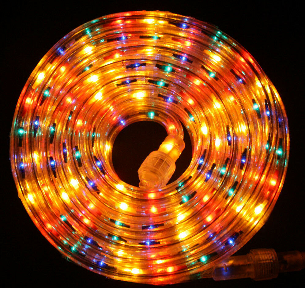 Led String Lights Reject Shop: Flexilight® Multi-Color Rope Light 300Ft 110V 120V 2-Wire