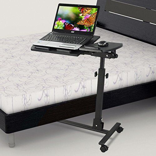 adjustable portable laptop table stand lap sofa bed tray computer notebook desk ebay. Black Bedroom Furniture Sets. Home Design Ideas