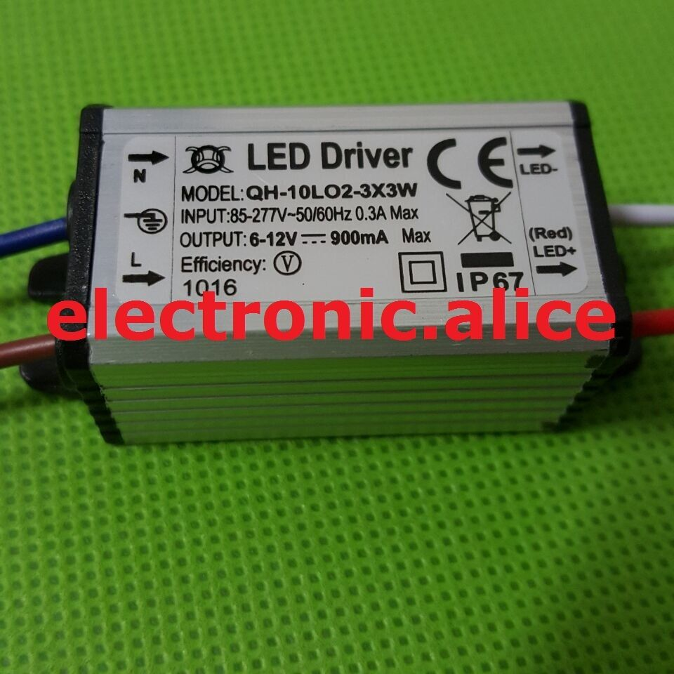 Led Chip Ac Driver Power Circuit 350ma Luxeon Electronics Projects Circuits Photos