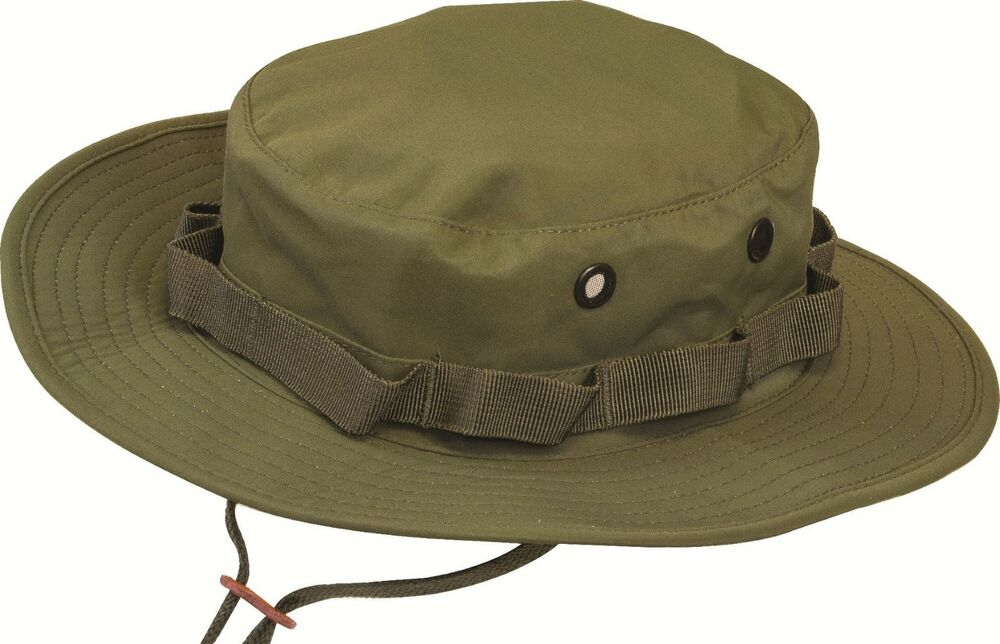 Gents Waterproof Country Hat Mens Khaki Boonie Bucket