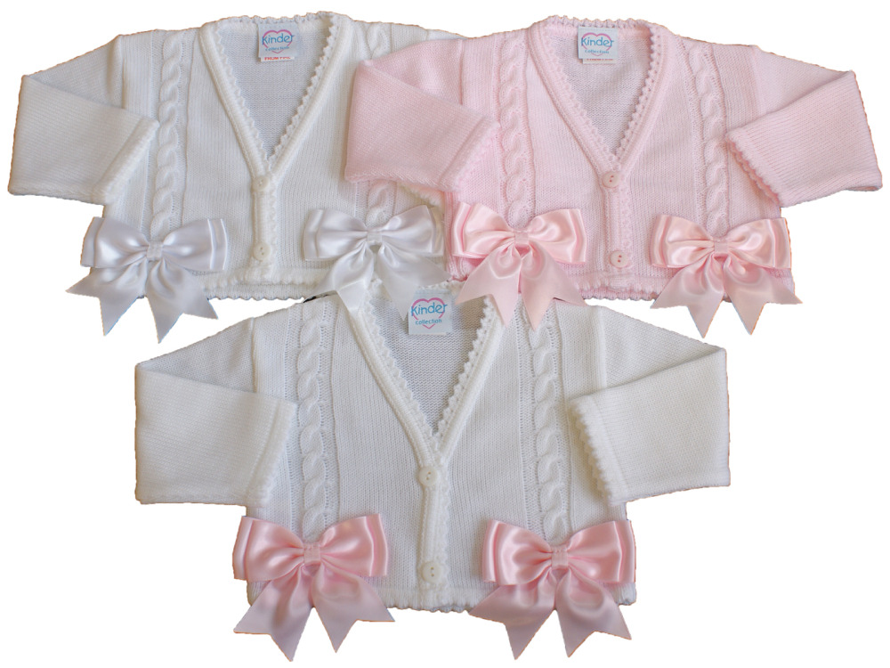 Baby Girl Bow Cardigan Bolero Bows Spanish Style
