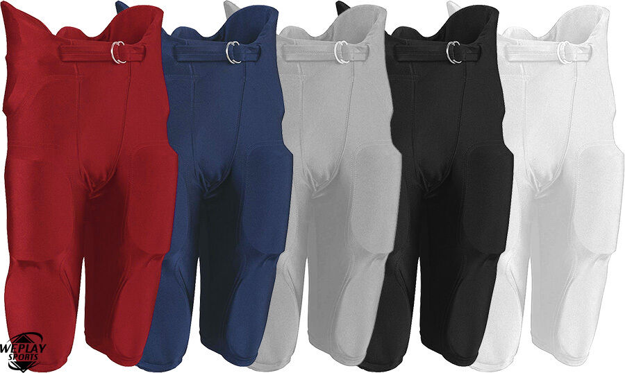 russell athletic youth boys integrated football pants with pads built in f25pfwp ebay. Black Bedroom Furniture Sets. Home Design Ideas