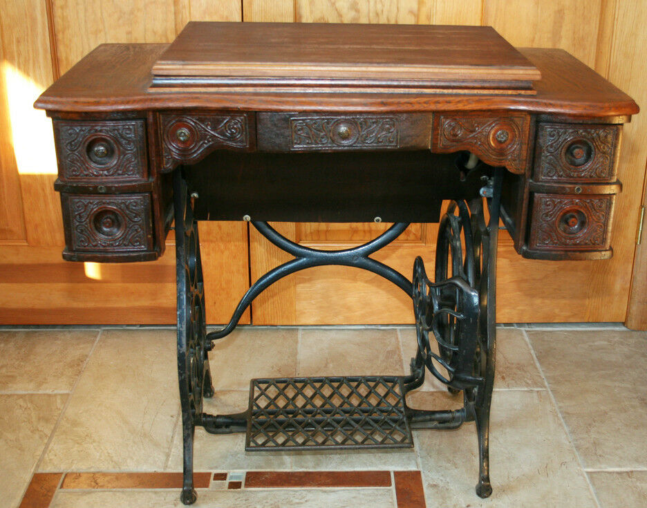 rare antique vtg globe special rotary treadle sewing