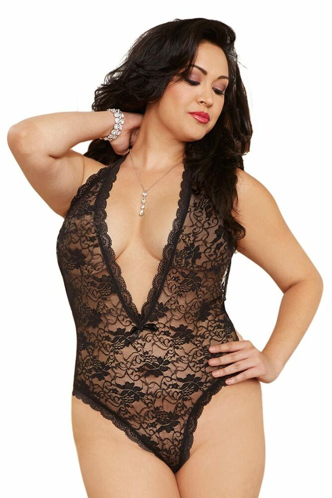 Sexy lingerie plus size women