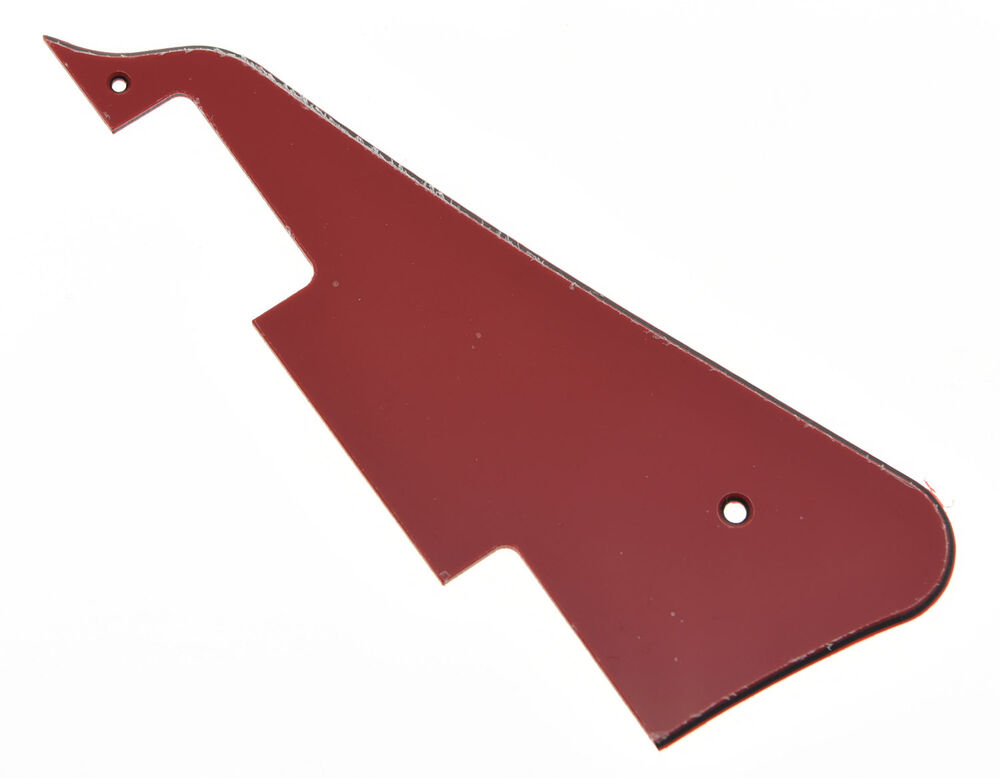 Red 3 Ply LP Guitar Pickguard Scratch Plate For Epiphone ...