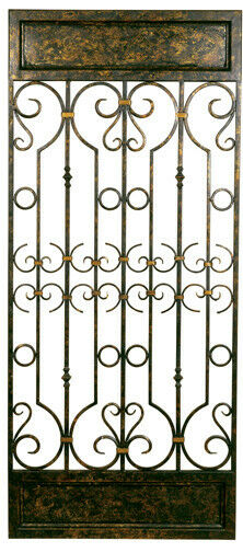 2408 Scrolled Metal Decorative Wall Panel 757216124081
