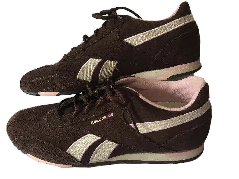 ll bean reebok sunwashed canvas sneakers tennis brown