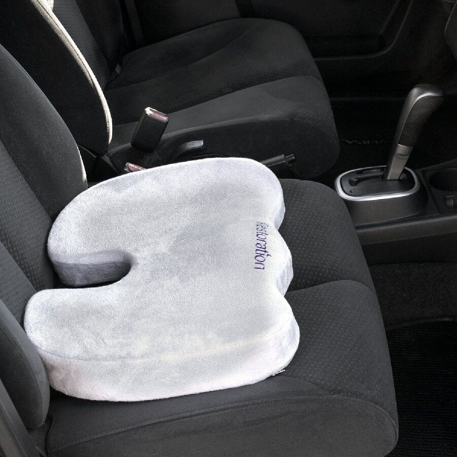 Memory Foam Seat Cushion Pad Travel Chair Wheelchairs Car