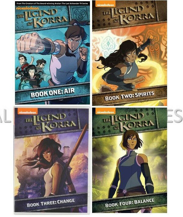 Avatar The Legend Of Korra Complete Series 1-4 (1 2 3 4