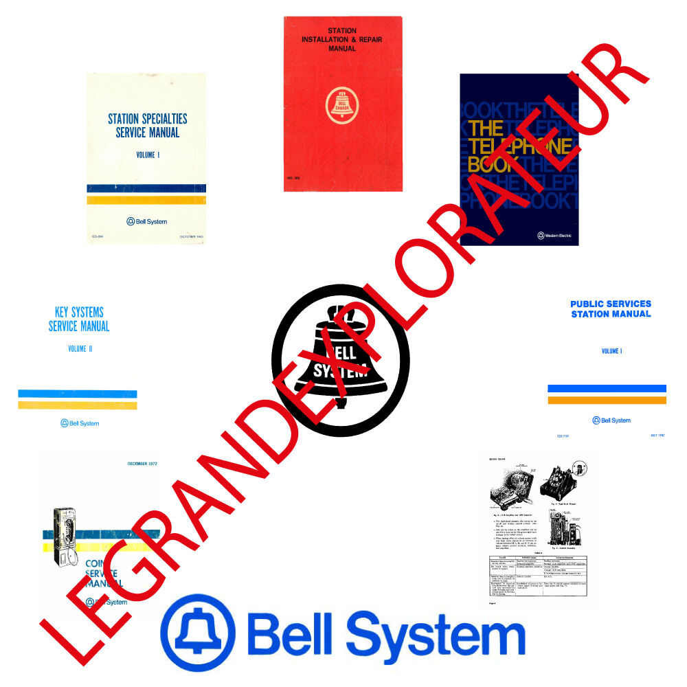 Bell System Practices Service Repair Manuals Collection
