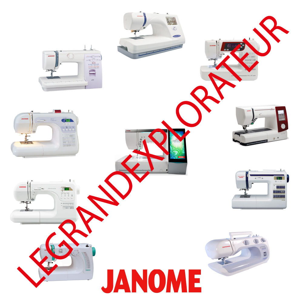 Ultimate Janome Sewing Machine User Parts Repair Service manual 285 pdf on  DVD | eBay