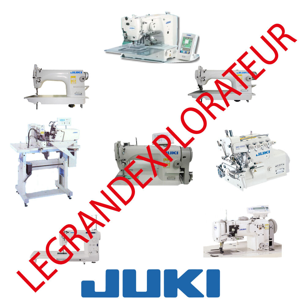 Ultimate JUKI Sewing Machines Service Repair Parts manuals (PDFs manual s  DVD) | eBay