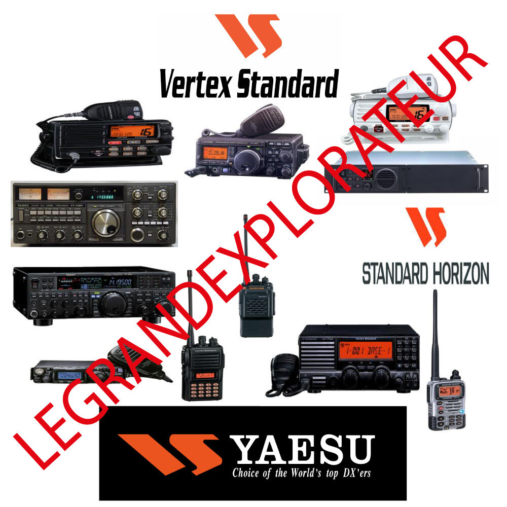 Yaesu Vertex Standard Horizon Operation Repair Service manual 630 on DVD |  eBay