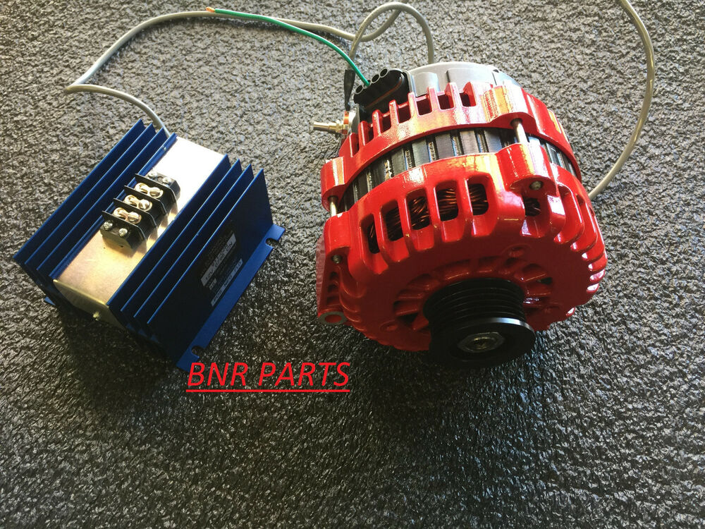 External Parts Of A Tractor : Chevy alternator high amp with external adjustable