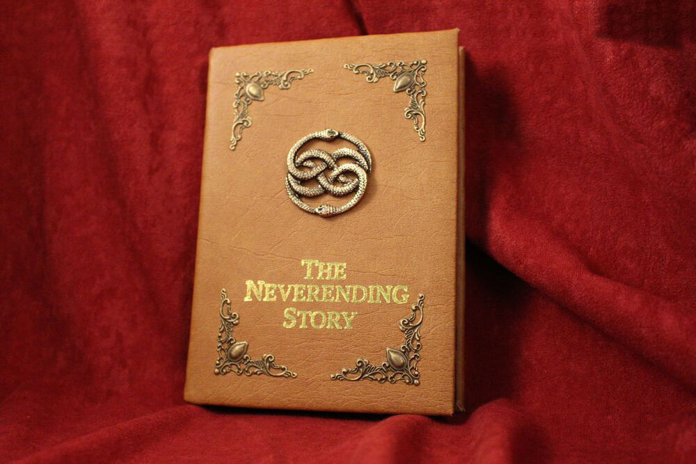 Handmade Story Book Cover ~ The neverending story book replica cover for ipad ereader