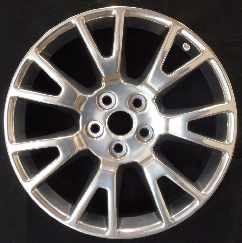 Cadillac Cts 2010 2011 2012 Polished 19 Quot Factory Oem Wheel