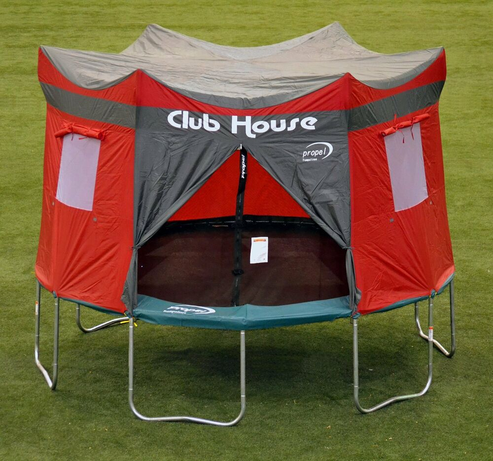 Trampoline Tent Cover Clubhouse Castle Play Tarp Hideout