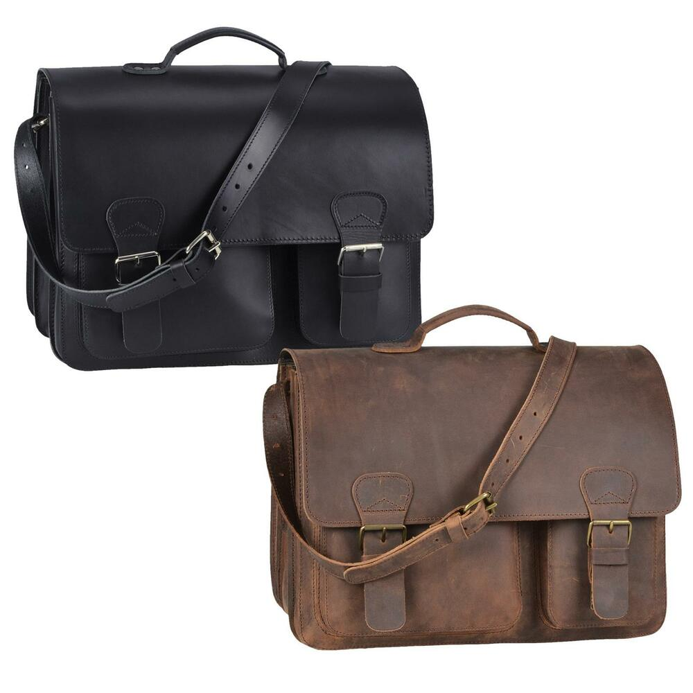 ruitertassen xl lehrertasche leder herren damen schultasche aktentasche 2342 ebay. Black Bedroom Furniture Sets. Home Design Ideas