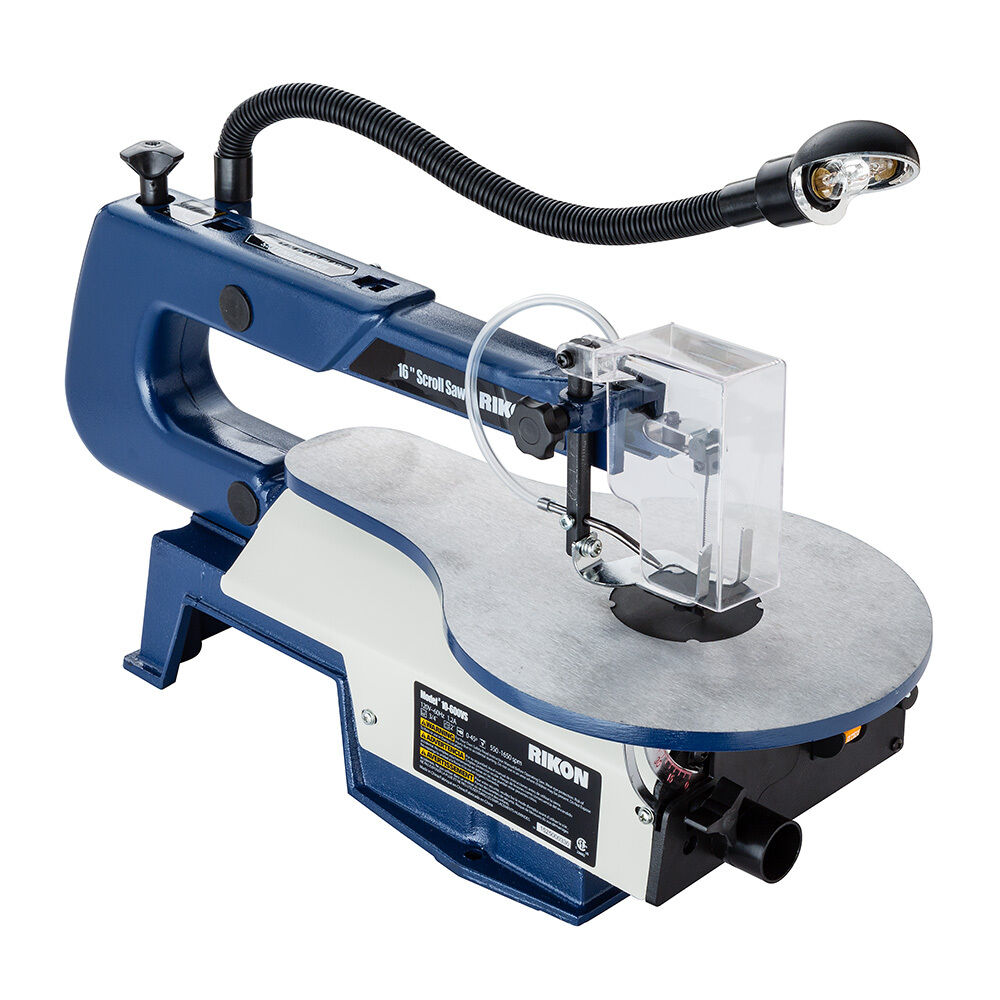 Rikon 10-600VS Variable Speed Scroll Saw with Work Light ...