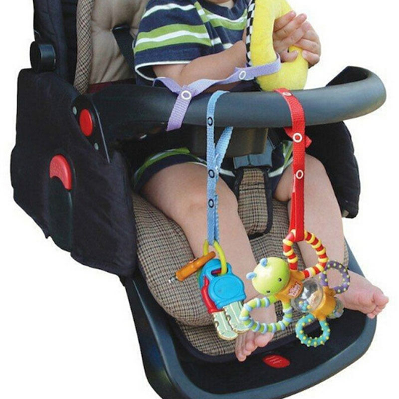 Car Seat Toy Holder : Toddler baby bottle sippy cup strap toy holder for