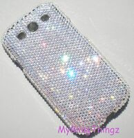 12ss Crystal Diamond Bling Back Case for Samsung Galaxy S3 w/ Swarovski Elements