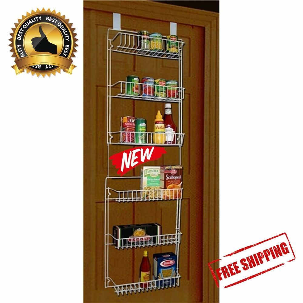 Details About Storage Dynamics 5 Tier Over The Door Rack Organizer Kitchen Pantry E Shelf
