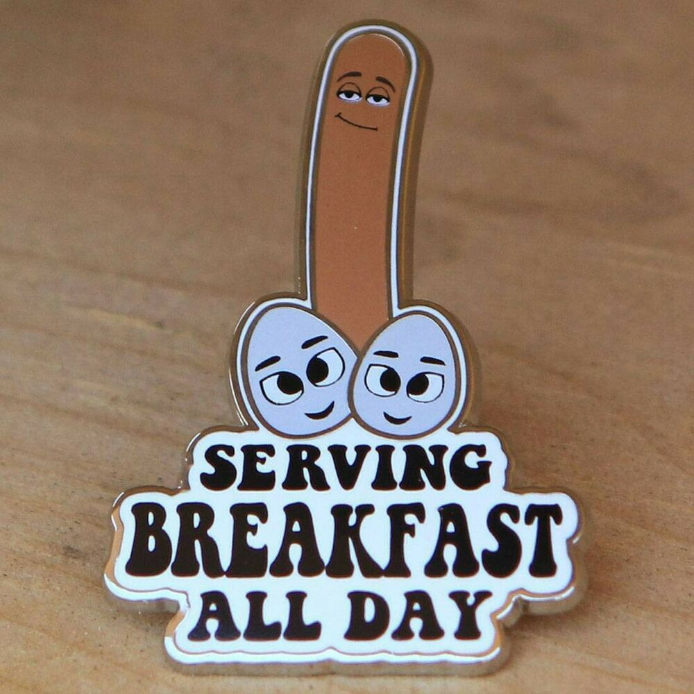BAIT X Sausage Party Breakfast Pin Brown