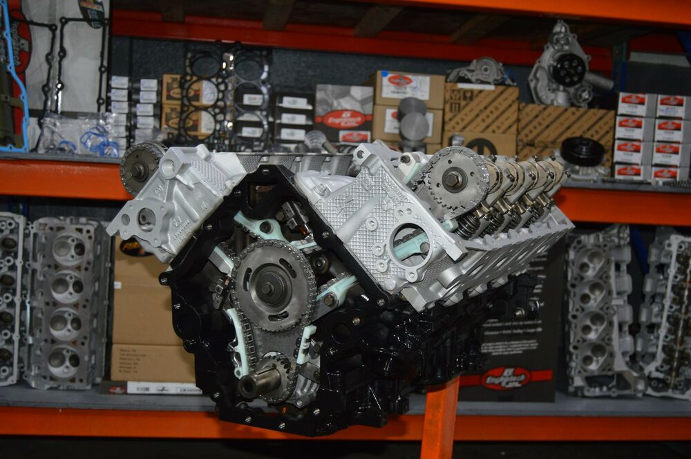Dodge Chrysler Jeep 4.7L Rebuilt Engine Long Block 2008 ...