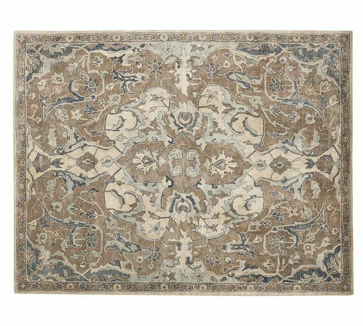 Pottery Barn Nolan 8X10 Persian Wool Area Area Rugs