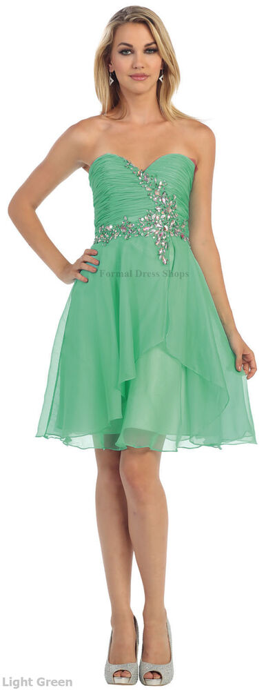 SALE ! SHORT HOMECOMING DRESSES BRIDESMAIDS SEMI FORMAL COCKTAIL PARTY PLUS SIZE | EBay