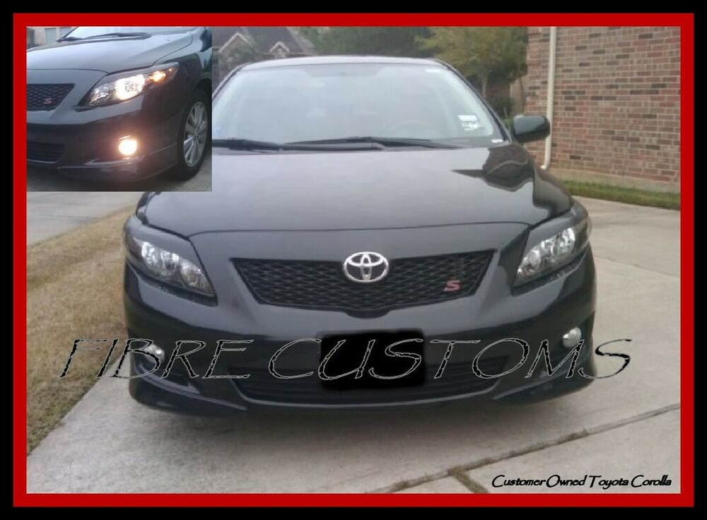Made To Fit Corolla Eyelids 2009 09 10 Fiberglass Toyota