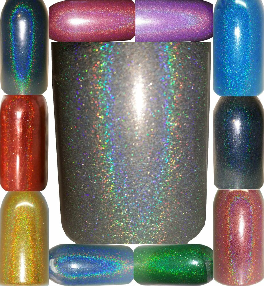 Acrylic Nail Powder Holographic: Holographic .004 True Ultra Fine Cosmetic Acrylic/Gel