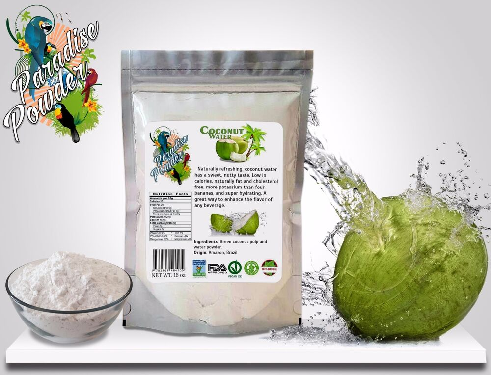 What Is The Natural Flavor In One Coconut Water