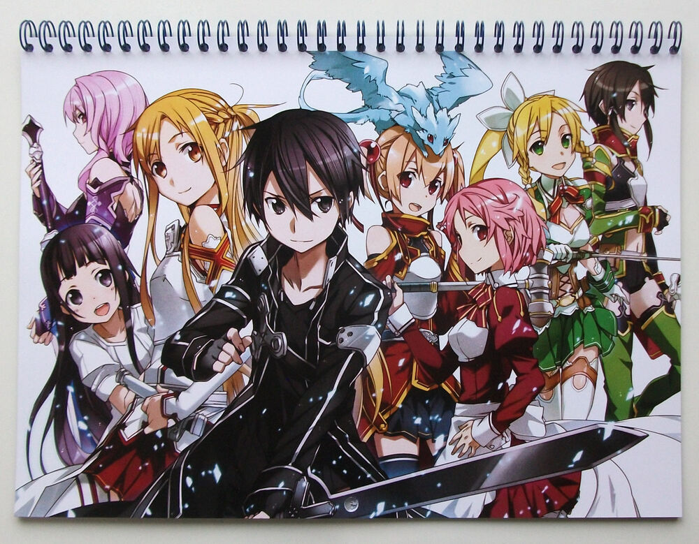 Wall Calendar 2018 (12 Pages A4) SWORD ART ONLINE Anime