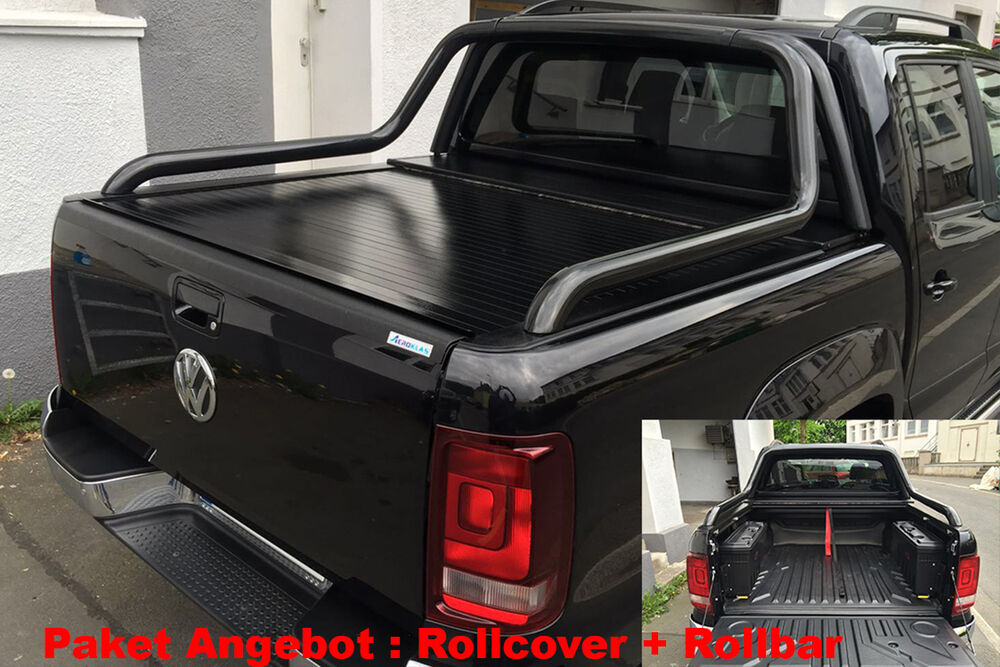 volkswagen amarok pick up laderaumabdeckung rollcover. Black Bedroom Furniture Sets. Home Design Ideas