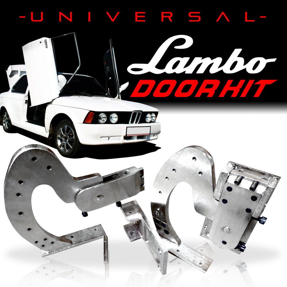 Closeout 90 Degree Universal Lambo Door Hinge Kit Door