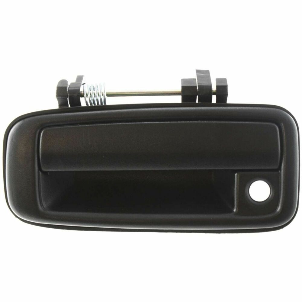 Toyota Corolla 88 89 90 91 92 Front Outer Door Handle Driver Side Textured Black Ebay