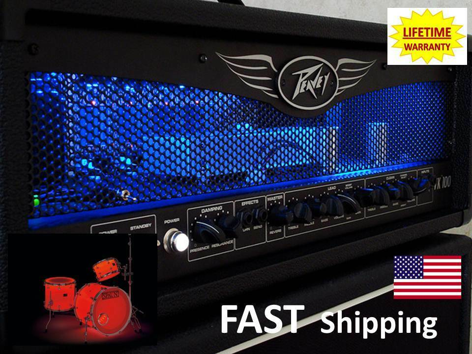 guitar amp led light light up the tubes in your marshall amp ebay. Black Bedroom Furniture Sets. Home Design Ideas