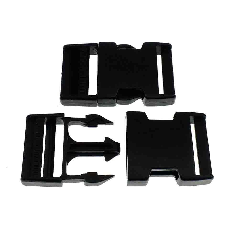 Delrin Side Release Plastic Buckles Clips For Webbing Bags