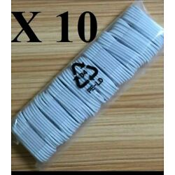 SET OF 10X3FT   USB Data Sync Charger Cable For Apple iPhone 5/6/7/8/X XS Max XS