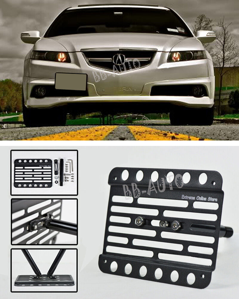 04-08 Acura TL Front Tow Hook Mount License Plate